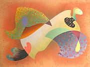 Miro Prints - Madama Butterfly Print by Fred Chuang