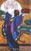 Graphic Pastels - Madama Butterfly by Linda Crockett