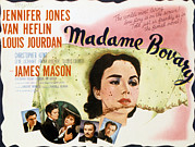 Films By Vincente Minnelli Posters - Madame Bovary, Jennifer Jones, James Poster by Everett