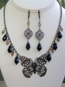 Handcrafted Jewelry - Madame Butterfly by Sharon Aine