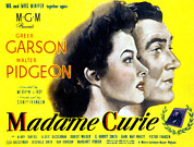 Greer Prints - Madame Curie, Greer Garson, Walter Print by Everett