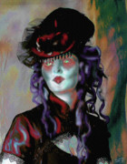 Countess Framed Prints - Madame la Comtesse Framed Print by Mimulux patricia no