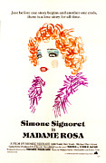 Simone Framed Prints - Madame Rosa, Simone Signoret, 1977 Us Framed Print by Everett