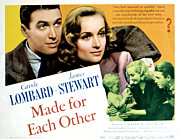 Made For  Posters - Made For Each Other, James Stewart Poster by Everett
