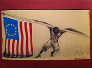 Strength Paintings - Made in America by BaBa Nochi