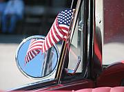 Star Spangled Banner Photos - Made in the USA by Kelly Mezzapelle