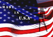 Pride Digital Art - Made in USA by Stefan Kuhn