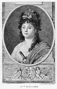 French Revolution Prints - Mademoiselle Maillard Print by Granger
