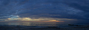 Gloaming Prints - Madiera Beach Panorama Print by T C Creations