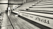 High School Sports Prints - Madison High Gym I Print by Steven Ainsworth