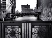 Madison Street Bridge - 3 Print by Ely Arsha