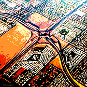 Freeway Digital Art - Madness by Cristophers Dream Artistry