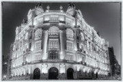 Metropolis Prints - Madrid at Night Print by Joan Carroll