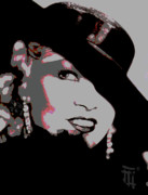Lips Digital Art - Mae West by Byron Fli Walker
