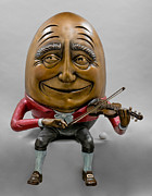 Violin Sculpture Originals - Maestro by Kimber Fiebiger