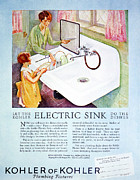 Early Sink Framed Prints - Magazine Ad, 1926 Framed Print by Granger