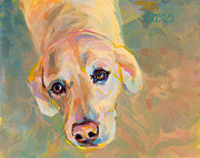 Soulful Eyes Paintings - Maggie A by Kimberly Santini