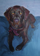 Commision Art - Maggie Brown Lab by Jan Barthold