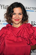 Maggie Framed Prints - Maggie Gyllenhaal At Arrivals For Usa Framed Print by Everett