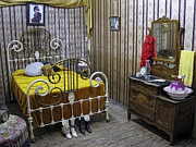 Bordello Art - Maggie Halls Victorian Bedroom - Murray Idaho by Daniel Hagerman