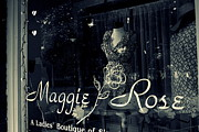 Store Front Art - Maggie Rose by Wendy Mogul