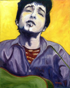 Bob Dylan Paintings - Maggies Farm by Natasha Laurence