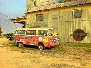 Ms Art Photos - Magic Bus by Rebecca Korpita