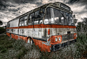 Magic Bus Posters - Magic Bus Poster by Wayne Sherriff