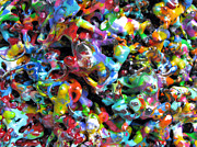 Color Sculpture Posters - Magic  Colors  Sculpture  Nineteen  Ninety  Nine Poster by Carl Deaville