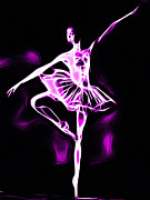 Gracefully Prints - Magic Dance Print by Stefan Kuhn