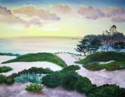 Laura Iverson - Magic Dawn at a Hidden Beach
