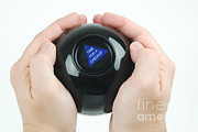 Magic Eight Ball, Time For A Checkup Print by Photo Researchers, Inc.