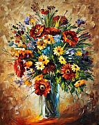 Afremov Art - Magic Flowers by Leonid Afremov