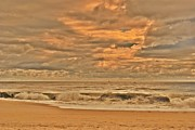 Stretched Canvas Photos - Magic In The Air - Jersey Shore by Angie McKenzie