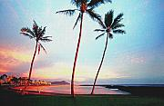 Coconut Palms Prints - Magic Island Canvas Print by Kevin Smith