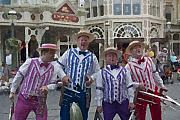 Magic Kingdom Digital Art - Magic Kingdom Main Street Quartet by Purcell Pictures