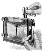 Slide Prints - Magic Lantern Display, 19th Century Print by