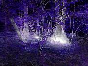 Mysterious Digital Art - Magic Lives Within The Forest by Roxy Riou