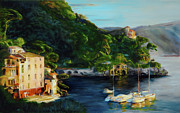 Portofino Italy Originals - Magic Moment by Kimberly Scruggs