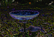 Fungi Digital Art - Magic Mushroom by David Lee Thompson