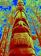 Native Art Digital Art - Magic Of The Shaman by Randall Weidner