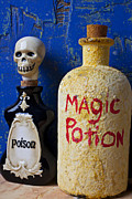 Stopper Photo Metal Prints - Magic Potion Metal Print by Garry Gay