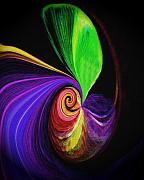 Abstract Canvas Photos Prints - Magic Sprout Print by Terril Heilman