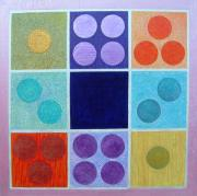 Mathematics Painting Prints - Magic Squares Print by Jennifer Baird