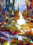 Drips Painting Originals - Magic Trail by John D Mabry