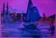 Boating Digital Art - Magic Voyage by George Pedro