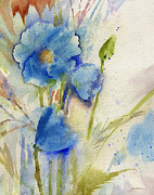 Sheila Golden - Magical Blue Poppy