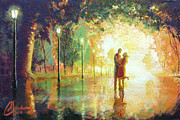 Amor Paintings - Magical Moment by Christopher Clark