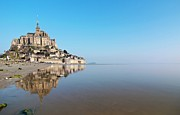 Place Of Worship Photos - Magical Mont Saint-michel by Paul Biris