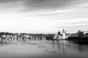 City Scape Metal Prints - Magical Prague Metal Print by Ivy Ho